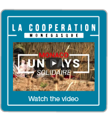 Bouton Clip Coopération Internationale