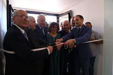 Liban Juin 2019 - Cérémonie d'inauguration du Centre Mère Enfant à Douris - Opening ceremony for the Mother and Baby Health Centre in Douris (Lebanon), led by Isabelle Rosabrunetto alongside Lebanese Minister of Health Dr Jamil Jabak. © DR