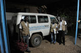 SamuSocial Mali UK - The SamuSocial Mali team about to set off for a night patrol ©REALIS